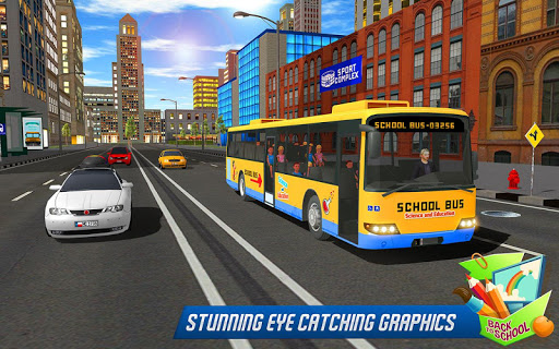 School Bus Driver Simulator 2018: City Fun Drive 1.0.2 screenshots 12