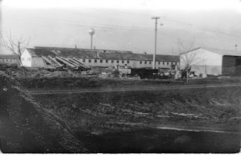 Photo: 1970-es évek épül a földműves szövetkezet telepe