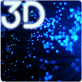 Blue Particles Live Wallpaper