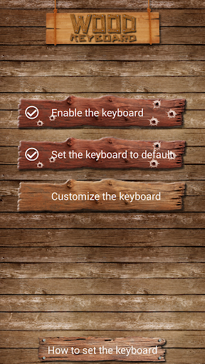 Wood Keyboard Design