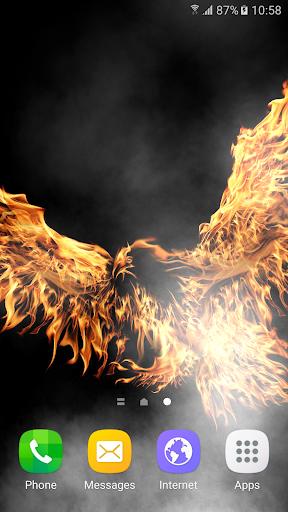 Fire Live Wallpaper 1.0.6 screenshots 2