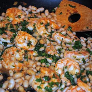 Summer Fresh Green Beans and Tender Shrimp
