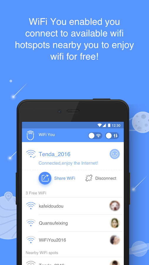 WiFi You-Free WiFi for Internet No password needed- screenshot