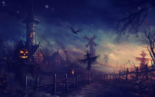mod Halloween Live Wallpaper 1.1 screenshots 2