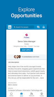 LinkedIn Lite: 1 MB Only. Jobs, Contacts, News- screenshot thumbnail