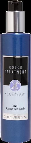 Color treatment platin violett blond 1107