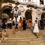 evening dancing at Palais Garnier, Paris Opera in Paris, Paris - Ile-de-France, France