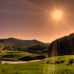 Shinesun by Zvonimir Drolc - Landscapes Mountains & Hills ( pwcredscapes )
