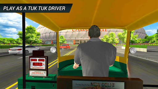 Tuk tuk driving simulator 2018