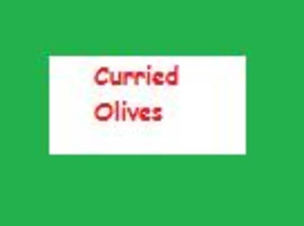 Curried Olives Recipe