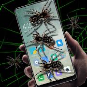 Spider in phone prank