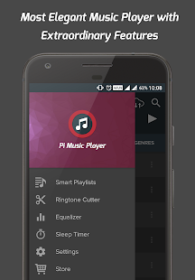 Pi Music Player: miniatura da captura de tela