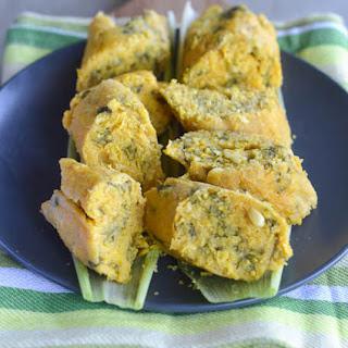 koki corn( African fresh corn tamales).