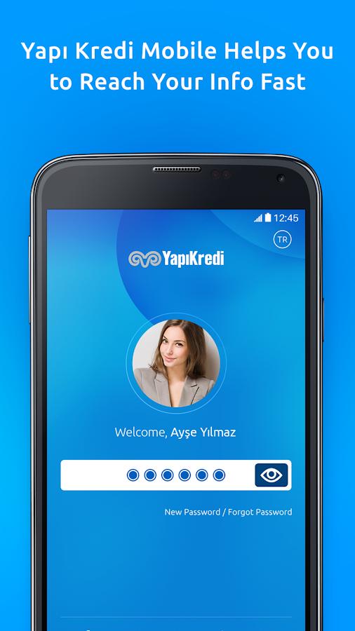 Screenshots of Yapı Kredi Mobile for iPhone