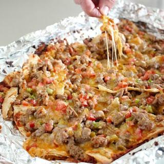 Grilled Taco Nachos.
