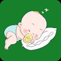 Baby white noise icon