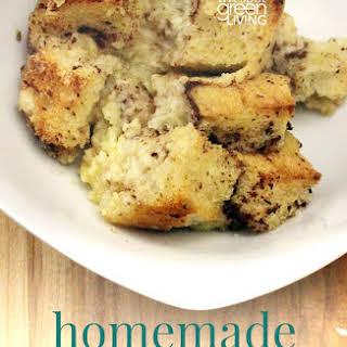 Homemade Bread Pudding.