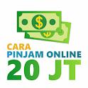 cara pinjam uang online cepat cair icon