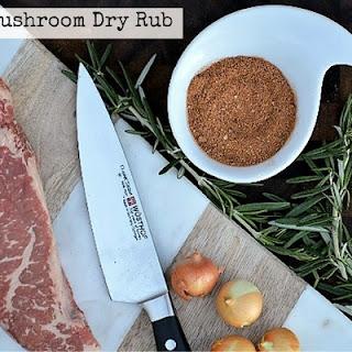 Porcini Mushroom Dry Rub Recipe