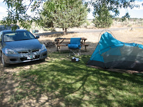 Photo: Car camping about 5 miles up from French Glen.