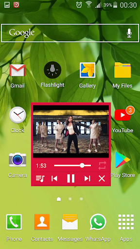 Floating YouTube Music Player 1.0 screenshots 21