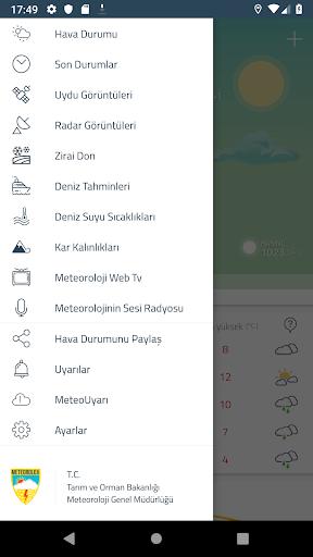 Meteoroloji Hava Durumu 6.1.8 Screenshots 3