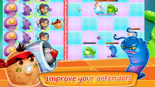 Microbes Defense game (apk) free download for Android/PC/Windows screenshot