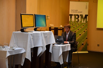 Photo: Our sponsors booth