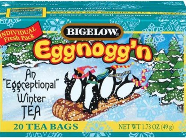 """An """"Eggceptional"""" Tea. Now you can indulge in the delicious taste of """"eggnog"""" often -..."""