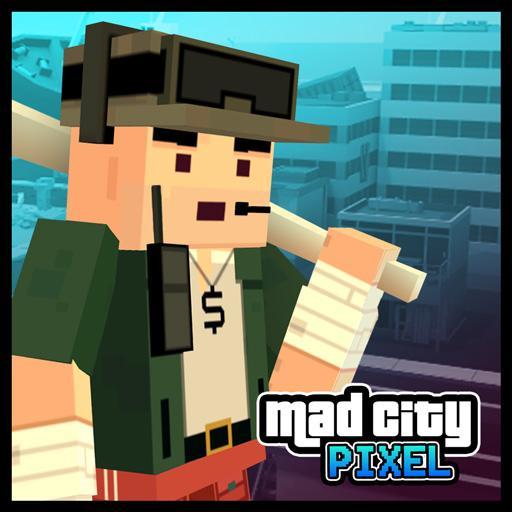 Pixel Wars Mad City