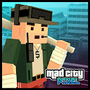 Pixel Wars Mad City 1.10 APK Скачать