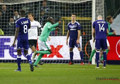 Anderlecht s'est fait retourner par Saint-Etienne