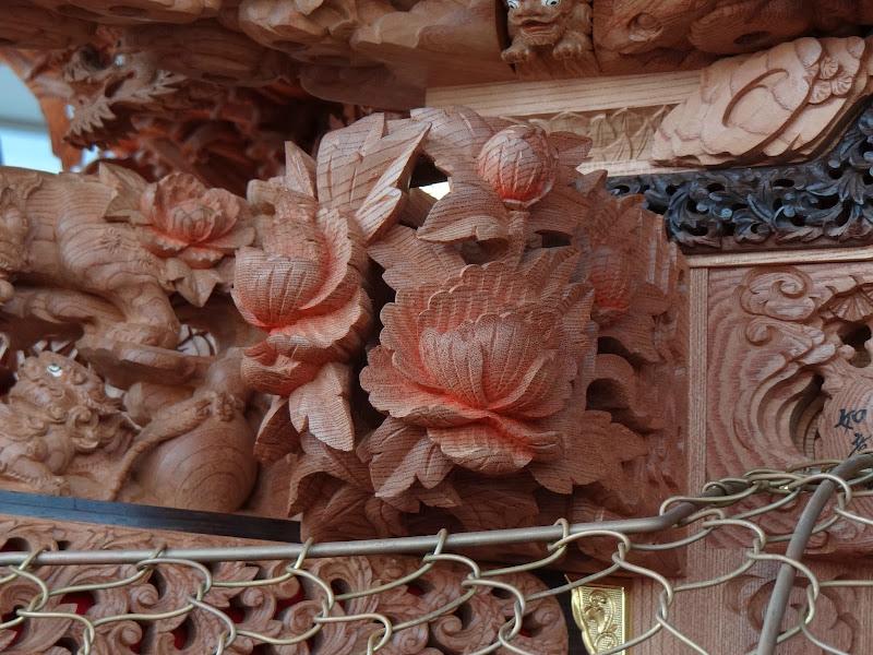 Photo: 籠彫り