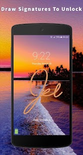 App Gesture Lock Screen APK for Windows Phone