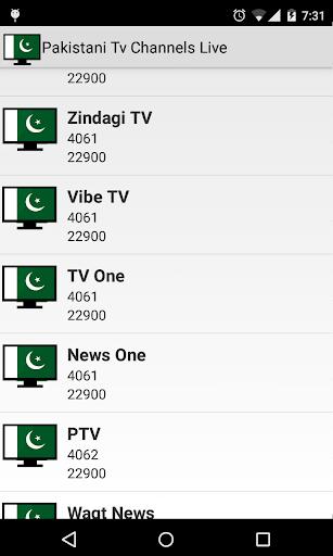 Pakistani Tv Channels Live 1.9 screenshots 8