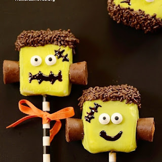 Adorable Frankenstein Marshmallow Pops & 5 Other Treats