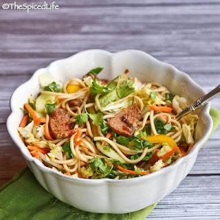 Asian Shredded Pork and Noodle Salad