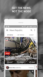 News Republic – Breaking news- screenshot thumbnail