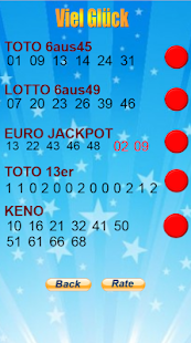 Lottery Lucky Number German - náhled