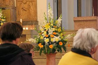 Photo: Flot blomsterdekoration fra gårdsdagens fest