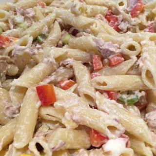 Tuna Crunch Pasta Salad.