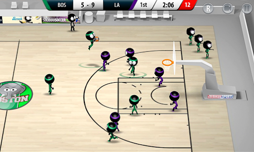 Stickman Basketball 2017 App Latest Version Download For Android and iPhone 4