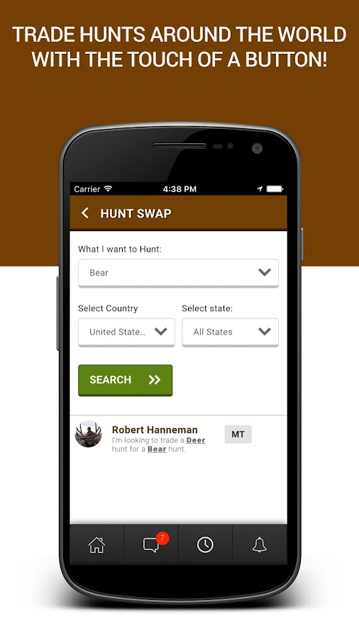 RackSite Hunters Social Media- screenshot