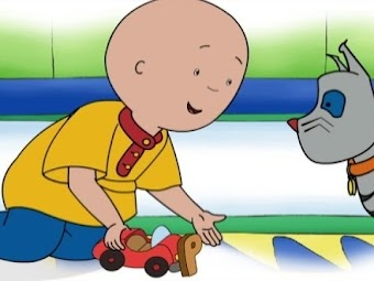 Magnet Madness/Caillou the Dinosaur Hunter/Caillou the Astronaut