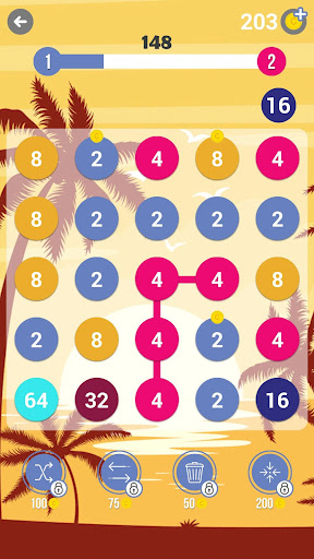 248: Connect Dots, Pops and Numbers - screenshot