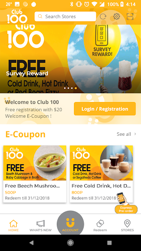 Screenshot for CDC Club 100 in Hong Kong Play Store