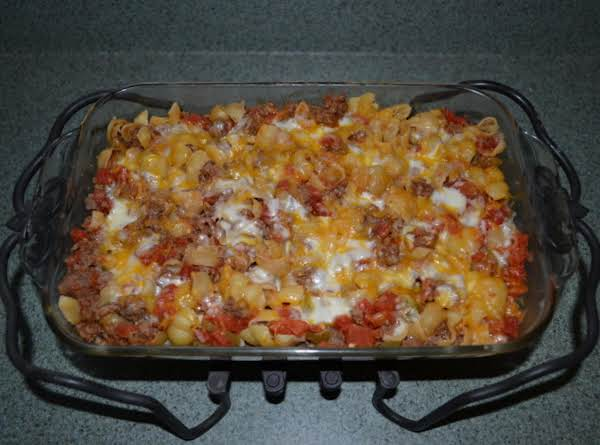 Shell Pasta Goulash Recipe