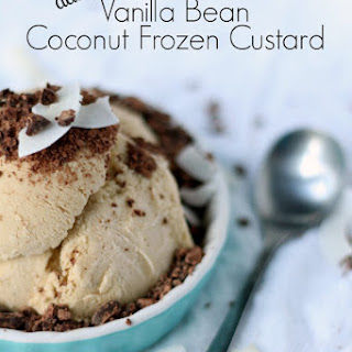 Coconut Vanilla Bean Frozen Custard Recipe