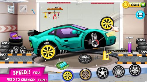 Modern Car Mechanic Offline Games 2019: Car Games apkpoly screenshots 7