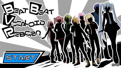 Beat Beat Vocaloid Reborn apkpoly screenshots 1